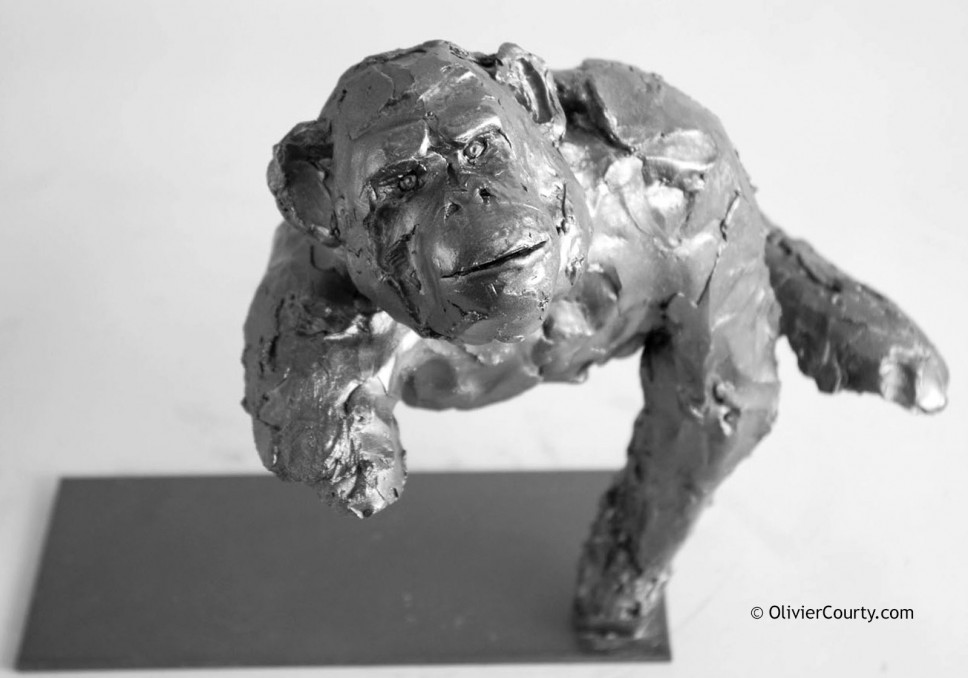moulage-sculpture-resine-chimpanze-o-courty